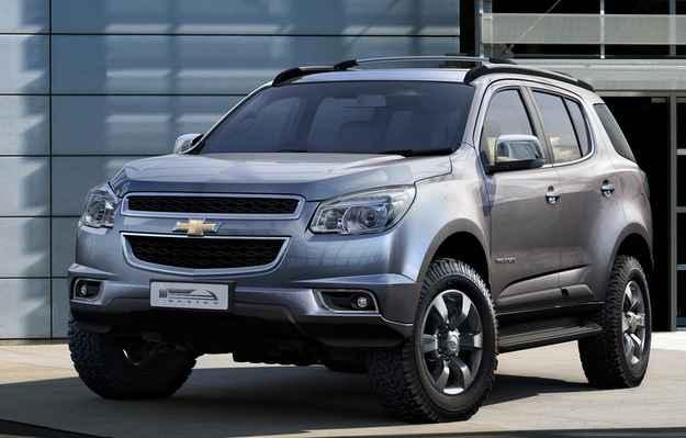 Chevrolet convoca recall do Trailblazer por defeito no cinto de seguran�a