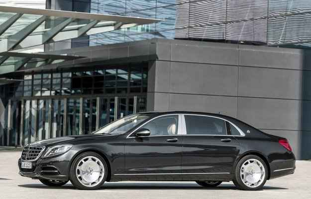 Mercedes-Maybach apresenta novos classe S500 e S600