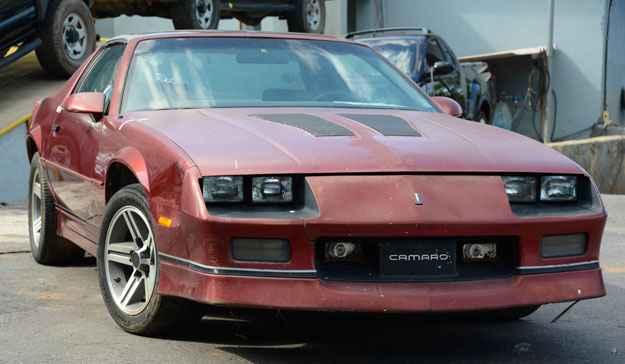Chevrolet Camaro � vendido por R$ 37 mil no leil�o da Pol�cia Federal
