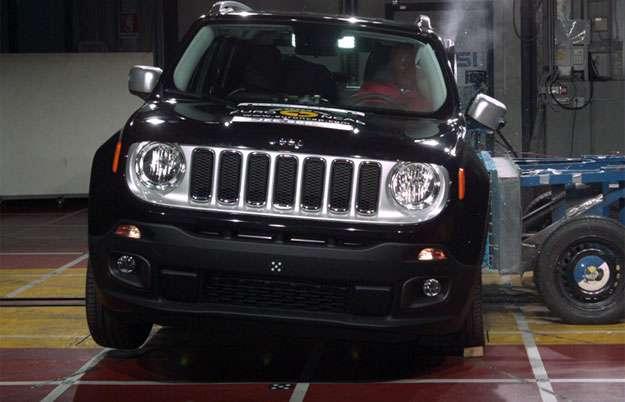 Jeep Renegade ganha cinco estrelas em crash test do Euro NCAP