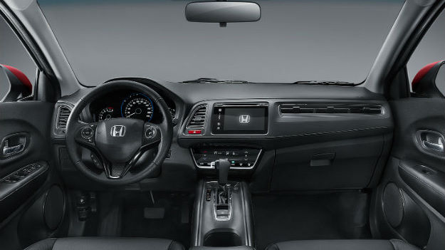 Ap s ter imagens reveladas interior do honda hr v for Honda hr v interieur