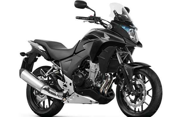 Cor preta está presente na versão ABS - Honda/ divulgação