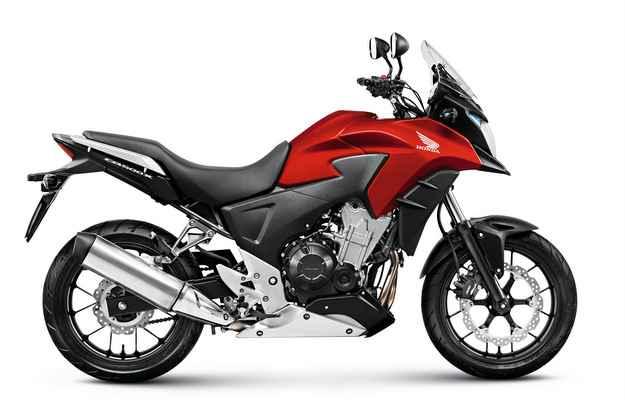 Vermelho perolizado estará disponível apenas na versão Standard - Honda/ divulgação