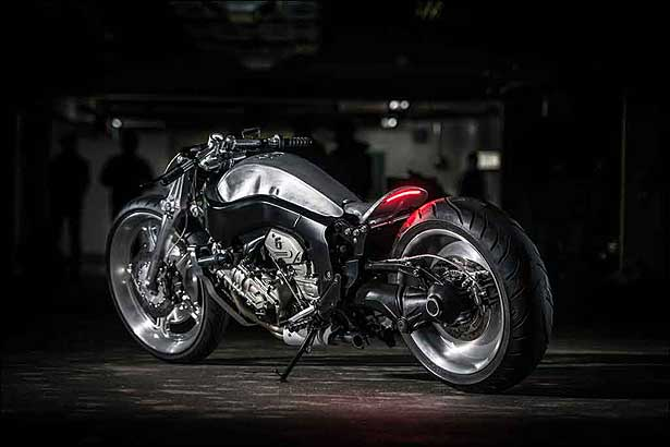 Conhe�a duas motos supercustomizadas a partir da BMW K 1600GTL