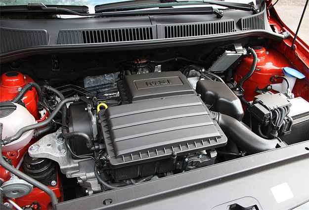 Motor 1.6 derivado do 1.0 três cilindros é ponto alto do carro - Marlos Ney Vidal/EM/D.A Press