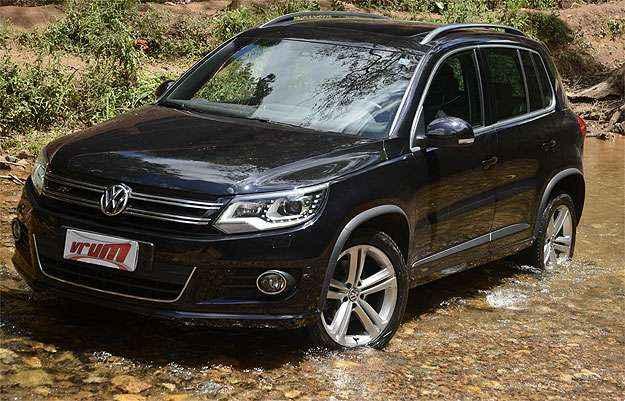 Volkswagen Tiguan R-Line: c�mbio e pre�o elevado tiram brilho do SUV de luxo