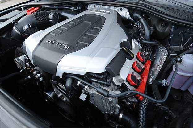Motor não é um exemplo de plasticidade, mas o V6 da Audi encanta - Euler Junior/EM/D.A Press