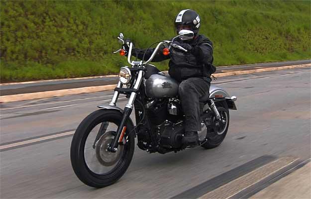 Harley Davidson Street Bob ganha apelido de 'seca sovaco'
