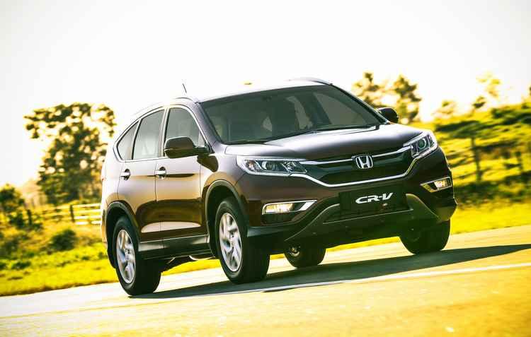 Honda lan�a CR-V reestilizado por R$ 134.900