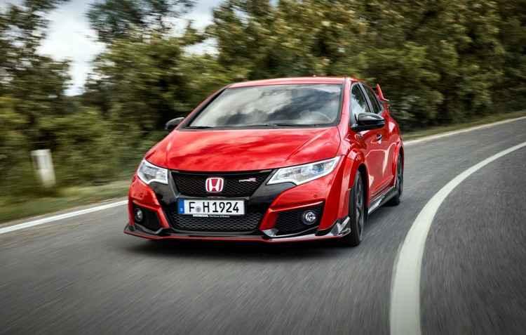 Honda apresenta vers�o esportiva Civic Type R com 314 cavalos