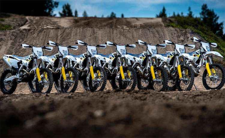 Husqvarna volta ao mercado brasileiro de motos com modelos para enduro e cross