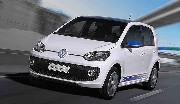 Volkswagen lan�a up! TSI com motor 1.0 de 105 cv a partir de R$ 43.4 mil