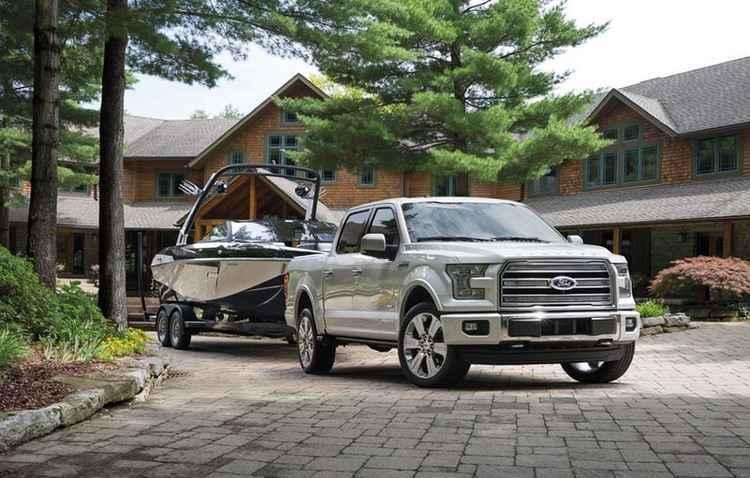 Ford anuncia vers�o de luxo da F-150 nos EUA