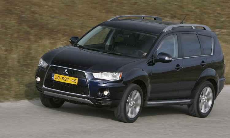 Mitsubishi convoca propriet�rios de Outlander e Lancer para recall