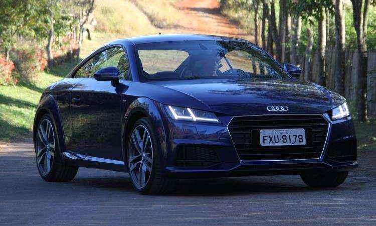 Rep�rter do Vrum acelera novo Audi TT cup� e revela todas as qualidades do esportivo