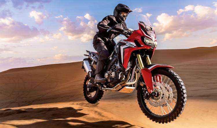 Honda relan�a a moto African Twin mantendo a proposta aventureira do modelo