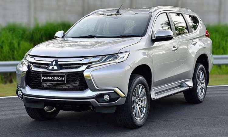 Mitsubishi apresenta novo Pajero na Tailandia