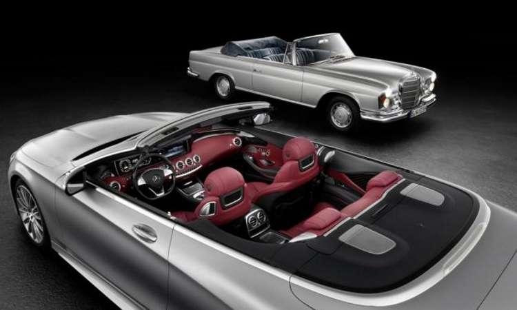 Mercedes confirma apresenta��o da Classe S Cabrio em Frankfurt