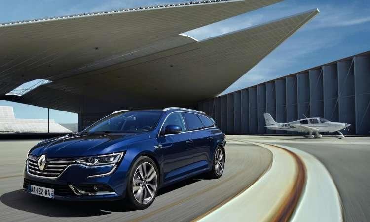 Renault divulga imagens da perua Talisman, que ser� apresentada no Sal�o de Frankfurt