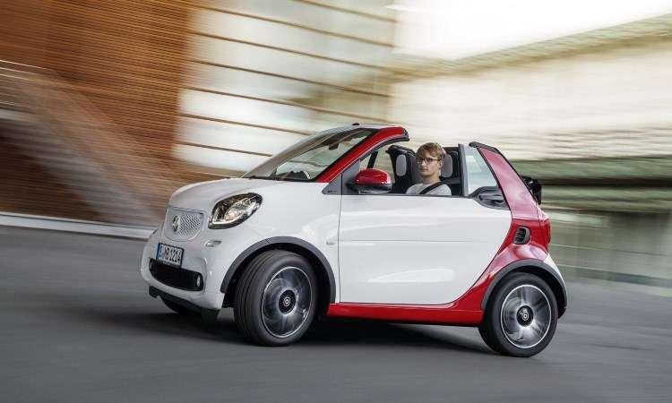 smart fortwo cabrio � mais uma atra��o de Frankfurt