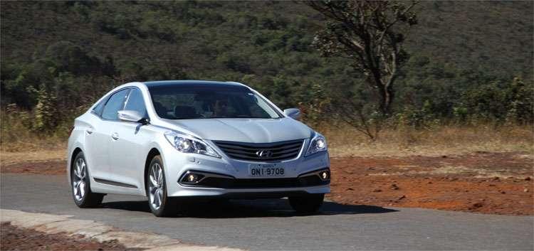Hyundai Azera chega � quinta gera��o mantendo a fluidez caracter�stica da marca