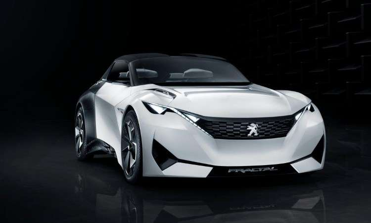 Divulgadas mais imagens do conceito Peugeot Fractal que estar� no Sal�o de Frankfurt