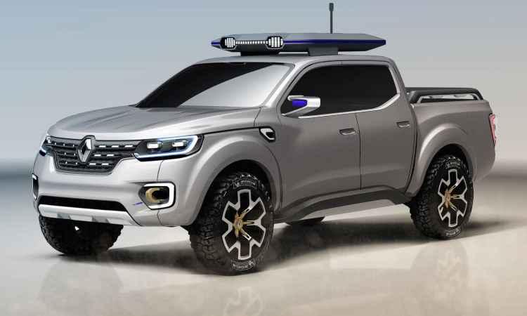 Renault revela picape de projeto com a Nissan e a Mercedes-Benz
