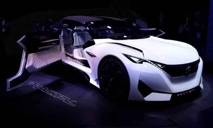 Peugeot Fractal Concept - Pedro Cerqueira/EM/D.A Press
