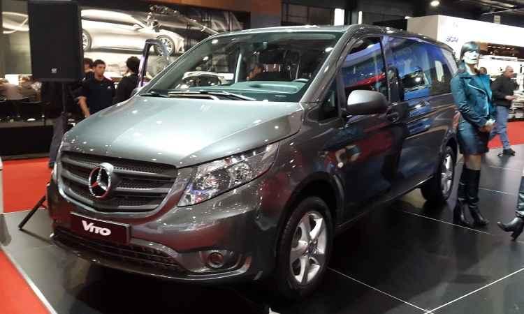 Mercedes-Benz Vito chega �s concession�rias em novembro