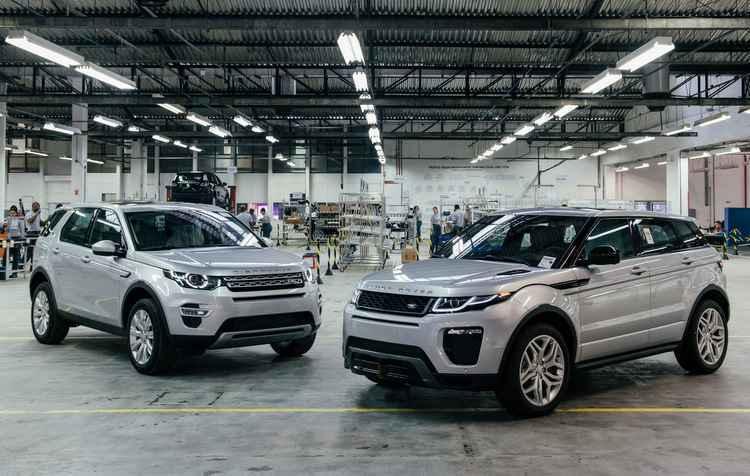 Range Rover Evoque ser� fabricado no Brasil em 2016