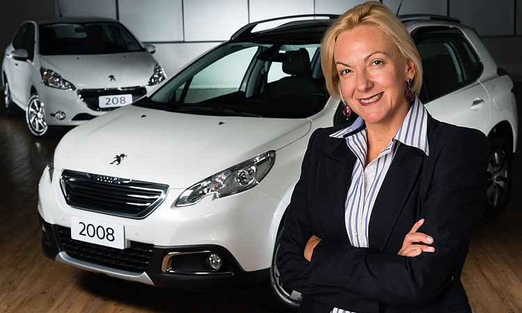 Pela primeira vez, mulher vai comandar Peugeot no Brasil