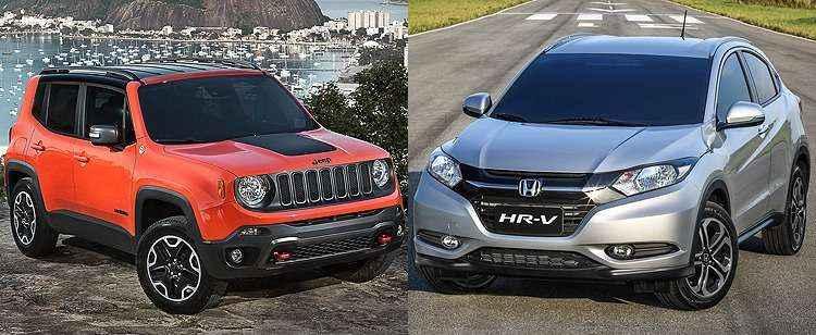 Jeep Renegade encosta no Honda HR-V nas vendas de setembro; Ford EcoSport � o quarto