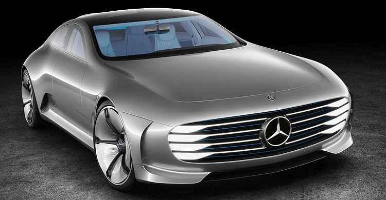 Conceito Mercedes-Benz lembra Transformers: design muda com o carro em movimento