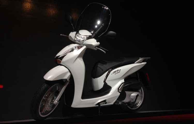 Scooter SH 300i da Honda será vendida no Brasil no próximo ano - Taciana Goes/DP/D.A Press