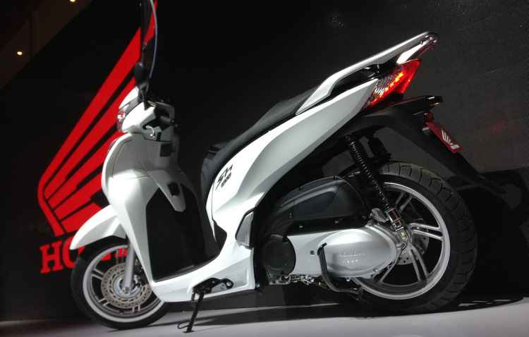 Honda SH 300 i será produzida no Brasil  - Taciana Goes/DP/D.A Press