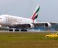 Airbus A380 realiza no Brasil primeiro voo comercial na Am�rica Latina