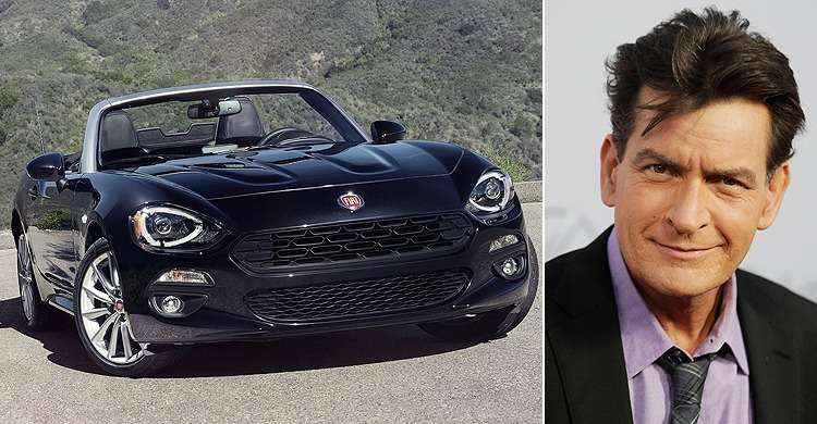 Fiat cancela propaganda do 124 Spider com Charlie Sheen depois do ator revelar ter HIV