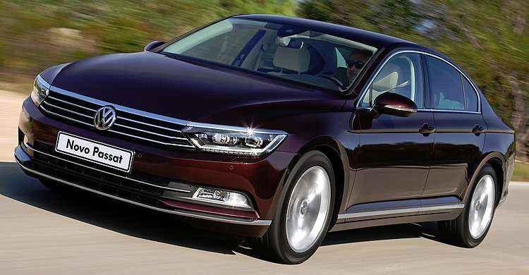 Volkswagen lan�a nova gera��o do Passat no Brasil por R$ 144 mil