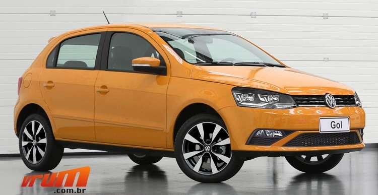 Esta � nossa aposta do Volkswagen Gol reestilizado antes da nova gera��o