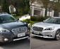 Novas gerações dos Subaru Legacy e Outback chegam ao Brasil com preços competitivos