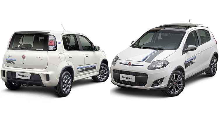 Fiat lan a s rie especial blue edition para uno sporting e for Sunny king honda oxford al