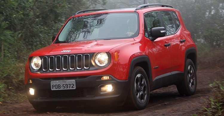 Jeep Renegade Sport 1.8 tem design forte, mas motor nem tanto