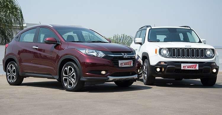 Comparativo: Honda HR-V EXL x Jeep Renegade Longitude Flex - Qual o melhor SUV?