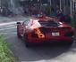 V�DEO: manobrista de restaurante faz Lamborghini Aventador pegar fogo
