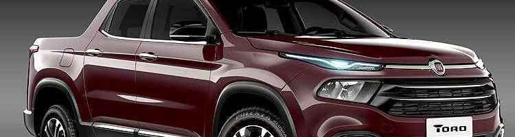 Fiat Toro tem nova imagem revelada. Picape chega em 2016 - Fiat/Divulgação