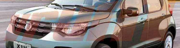 Fiat Mobi é o nome do novo hatch compacto da marca italiana - Paulinho MIranda/EM