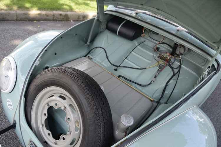 Fusca Pé de Boi não tinha marcador de combustível: dono tinha que improvisar com vareta de bambu! - Thiago Ventura/EM/D.A Press