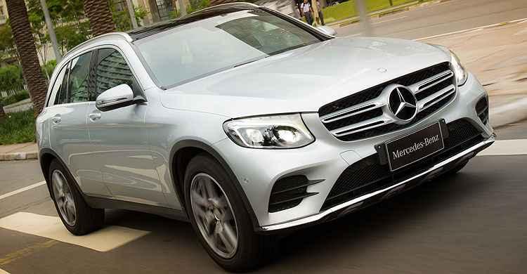 GLC 2.0 turbo substitui GLK, e com dimens�es bem mais avantajadas - Est�dio Malagrine/Divulga��o/Mercedes Benz