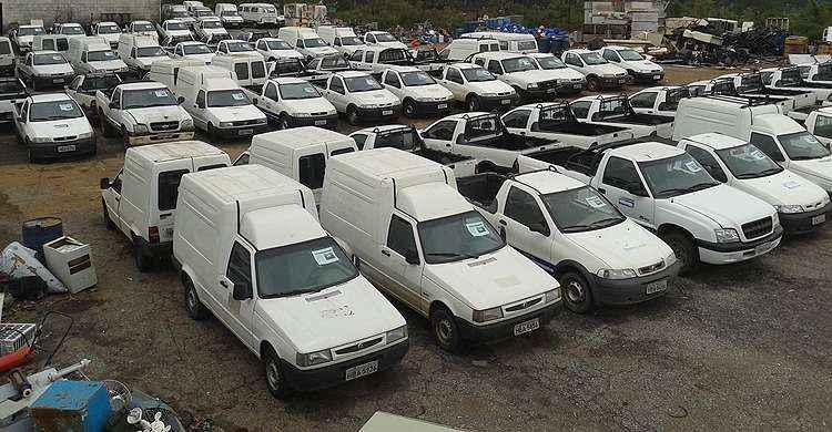 Leil�o da Copasa vai vender 84 ve�culos em Belo Horizonte