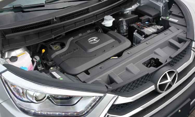 Motor 1.5 16v VVT � o mesmo do J3S e J3S Turin - Divulga��o/JAC
